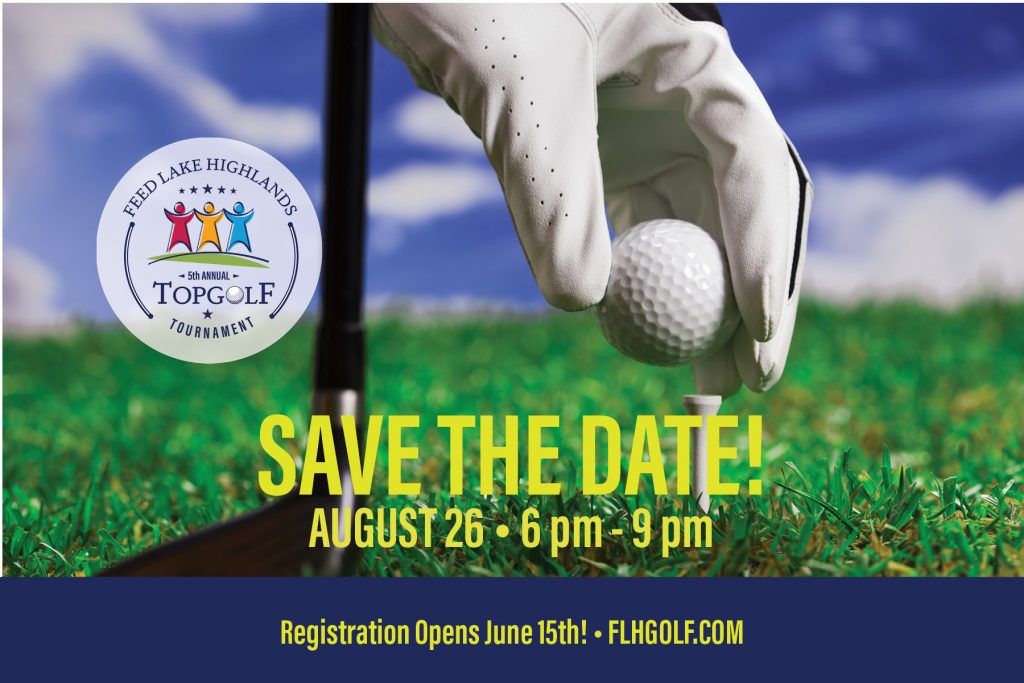 Feed Lake Highlands Top Golf Save the Date